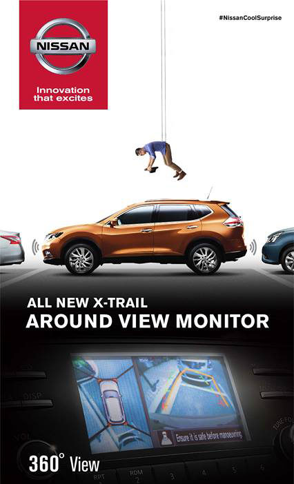 Around View Monitor Nissan X-Trail