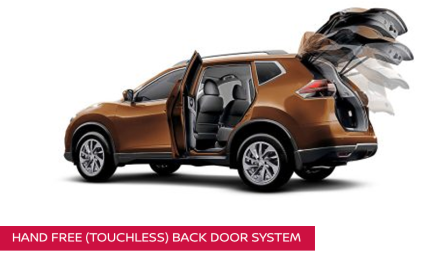 Touchless Back Door Nissan X-Trail