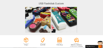 Flashdisk Custom Unik dari CustomBagus